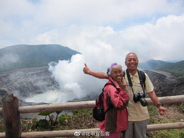 退休后做背包客,老夫妻环游世界
