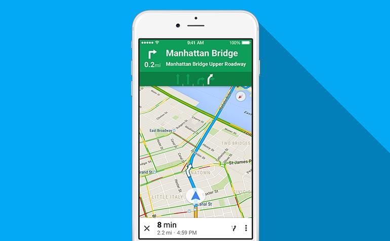 谷歌地图新功能,告诉你前方有超速照相机