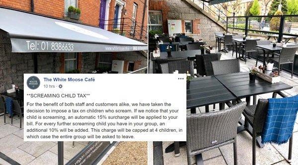 首家餐厅对父母征收15%的叫喊费!没管教好的小孩在餐厅里发出噪音一律收费