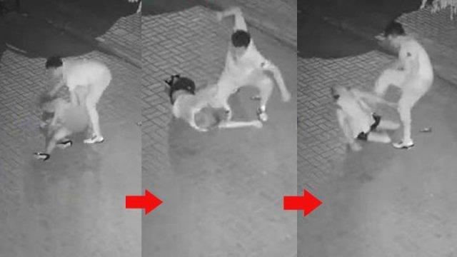 大连女被监视器拍到遭暴打,店东拆CCTV:不想惹事