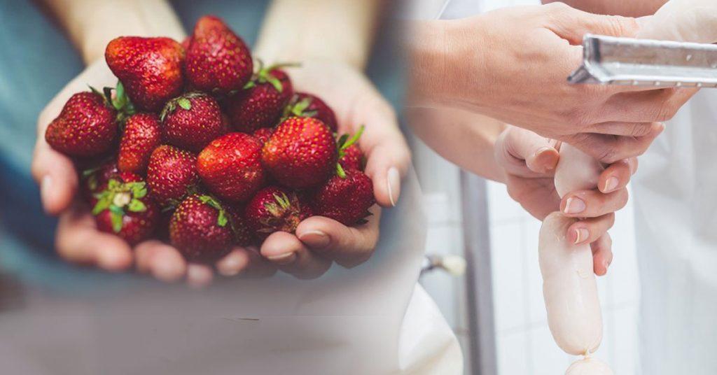 澳洲采草莓嫌累,女友跑去搓洋肠