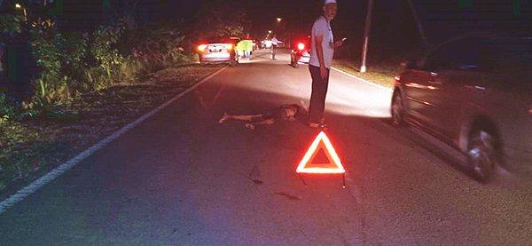 过马路被撞毙,警方急晤家属领尸